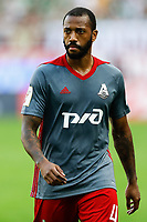 MOSCOW, RUSSIA - MAY 05: Manuel Fernandes of FC Lokomotiv Moscow looks on during the Russian Football League match between FC Lokomotiv Moscow and FC Zenit Saint Petersburg at RZD Arena on May 5, 2018 in Moscow, Russia.