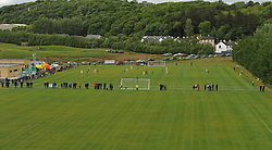General view of United Park Westport during the Republic of Ireland Northern Ireland tie as part of  U16 Uefa development tournament.<br />