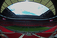 General Stadium view ahead of Catalans Dragons vs Warrington Wolves during the Ladbrokes Challenge Cup Final match at Wembley Stadium, London<br /> Picture by Stephen Gaunt/Focus Images Ltd +447904 833202<br /> 25/08/2018