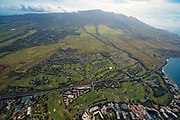 Aerial, Lahaina,  Maui, Hawaii