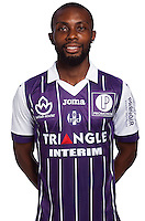 Jean Daniel Akpa Akpro of Toulouse during the photo shooting session of Toulouse FC for the new season 2016/2017 in Toulouse on September 16th 2016<br /> Photo : TFC / Icon Sport