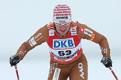 Barbara Jezersek of Slovenia at Ladies` Sprint Free Qualification Cross-country race at  FIS Nordic World Ski Championships Liberec 2008, on February 24, 2009, Vestec, Liberec, Czech Republic. (Photo by Vid Ponikvar / Sportida)