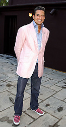 EDWARD TAYLOR at the opening party of the new Frankie's Italian Bar and Grill hosted by Frankie Dettori, Marco Pierre White and Edward Taylor at 68 Chiswick High Road, London W4 on 1st September 2005.<br />