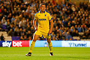 AFC Wimbledon midfielder Anthony Hartigan (8)  during the EFL Sky Bet League 1 match between Coventry City and AFC Wimbledon at the Trillion Trophy Stadium, Birmingham, England on 17 September 2019.