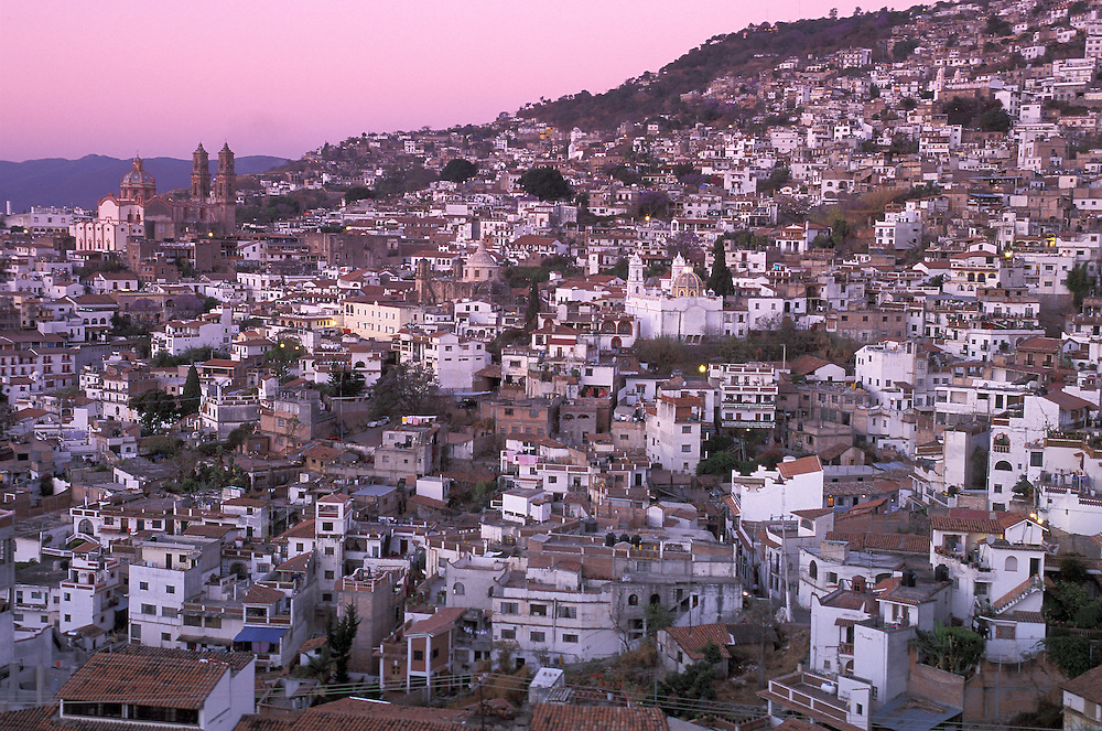 Colonial City,Taxco, Guerrero, Mexico