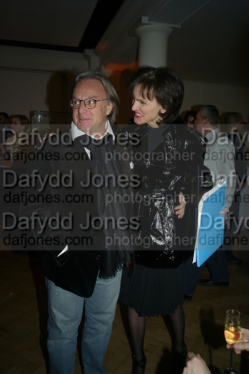 DIEGO LA VALLE AND BETTINA VON HASE, TOD'S Art Plus Film Party 2008. Party to raise funds for the Whitechapel art Gallery.  One Marylebone Road, London NW1, 6 March, 8.30 - late<br />