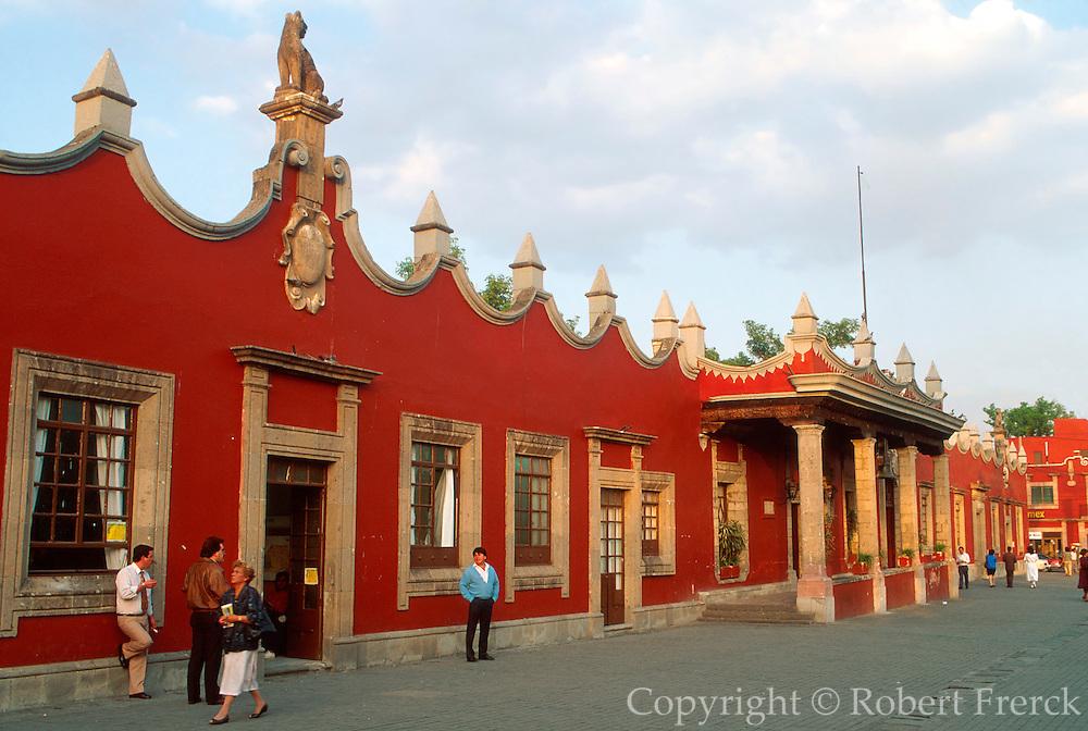 MEXICO, MEXICO CITY Coyoacan, Municipal Palace on plaza
