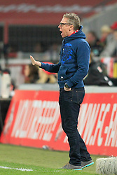 24.02.2014, Rhein-Energie Stadion, Koeln, GER, 2. FBL, 1. FC Koeln vs SpVgg Greuther Fuerth, 22. Runde, im Bild Trainer Peter Stoeger (1 FC Koeln) gibt Anweisungen // during the 2nd German Bundesliga 22th round match between 1. FC Koeln and SpVgg Greuther Fuerth at the Rhein-Energie Stadion in Koeln, Germany on 2014/02/24. EXPA Pictures © 2014, PhotoCredit: EXPA/ Eibner-Pressefoto/ Schueler<br /> <br /> *****ATTENTION - OUT of GER*****