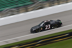 October 19, 2018 - Kansas City, Kansas, United States of America - JJ Yeley (23) hangs out in the garage during practice for the Hollywood Casino 400 at Kansas Speedway in Kansas City, Kansas. (Credit Image: © Justin R. Noe Asp Inc/ASP via ZUMA Wire)