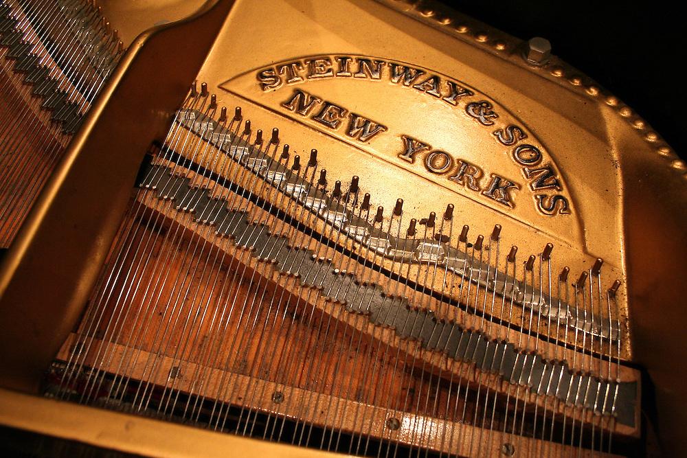 Steinway Piano Interior