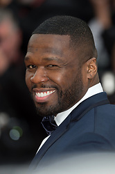 Curtis Jackson arriving on the red carpet of 'Solo A Star Wars story' screening held at the Palais Des Festivals in Cannes, France on May 15, 2018 as part of the 71st Cannes Film Festival. Photo by Nicolas Genin/ABACAPRESS.COM