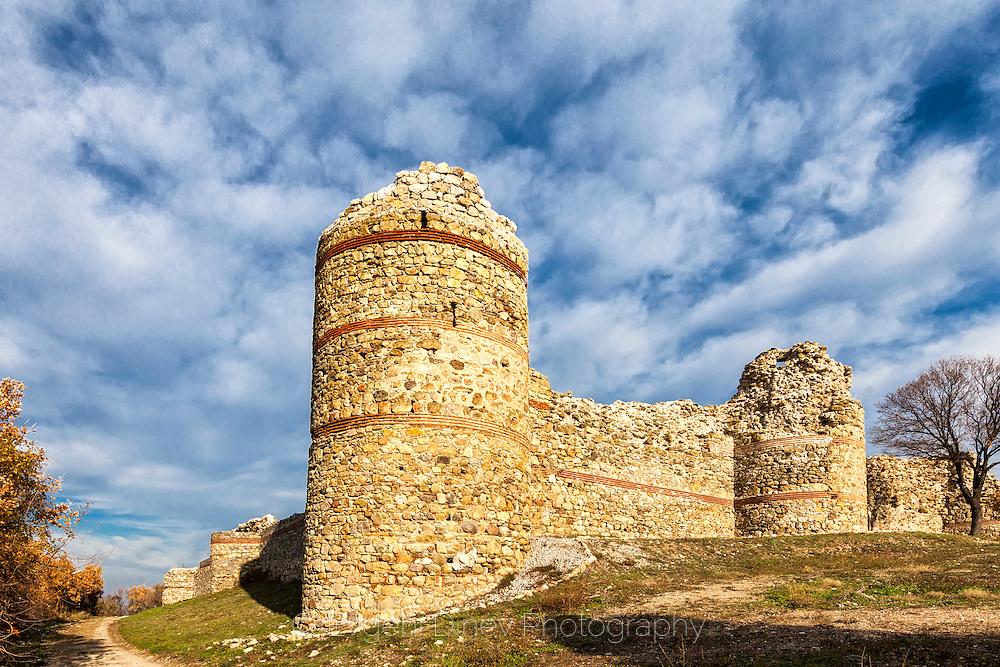 Ancient Byzantine fortress