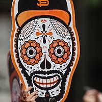 San Francisco Giants World Series Victory Parade 2012 - Dia de los Muertos