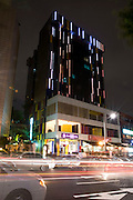 Photo shows the chic designer exterior of IP Boutique Hotel in the Itaewon district of of Seoul, South Korea on 25 June 2010..Photographer: Rob Gilhooly