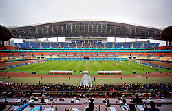 NANNING, CHINA - Monday, March 26, 2018: Czech Republic take on China during the 2018 Gree China Cup International Football Championship at the Guangxi Sports Centre. (Pic by David Rawcliffe/Propaganda)