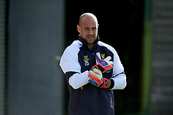 03.10.2012, Melwood, Liverpool, ENG, UEFA EL, FC Liverpool, im Bild Liverpool's goalkeeper Jose Reina // during a training session ahead of the UEFA Europa League Group A match against Udinese Calcio at at Melwood Training Ground, Liverpool, England on 2012/10/03. EXPA Pictures © 2012, PhotoCredit: EXPA/ Propagandaphoto/ David Rawcliff..***** ATTENTION - OUT OF ENG, GBR, UK *****