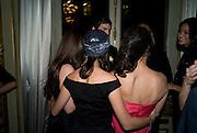 SCOUT WILLIS; DEMI MOORE; TALLULAH WILLIS  Drinks the evening before the The 2008 Crillon Debutante Ball. Baccarat. Place des Etats-Unis.  Paris. 29 November 2008. *** Local Caption *** -DO NOT ARCHIVE-© Copyright Photograph by Dafydd Jones. 248 Clapham Rd. London SW9 0PZ. Tel 0207 820 0771. www.dafjones.com.