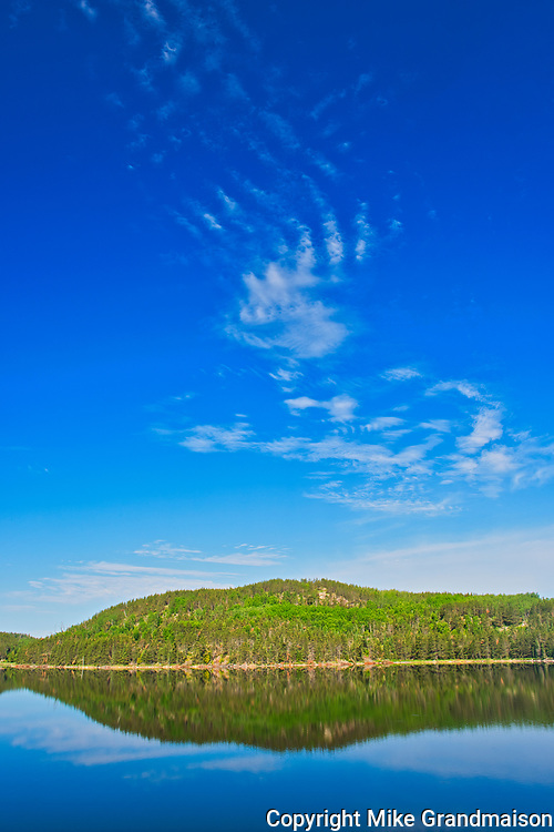 Clouds on Blindfold Lake<br />