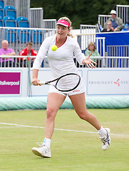 LIVERPOOL, ENGLAND - Saturday, June 22, 2013: Coco Vandeweghe during Day Three of the Liverpool Hope University International Tennis Tournament at Calderstones Park. (Pic by David Rawcliffe/Propaganda)