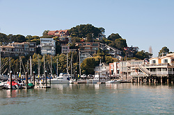Tiburon Houses, Waterfront, near San Francisco, California, USA.  Photo copyright Lee Foster.  Photo # california108089