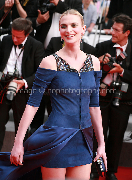Sarah Marshall at The Search gala screening red carpet at the 67th Cannes Film Festival France. Tuesday 20th May 2014 in Cannes Film Festival, France.
