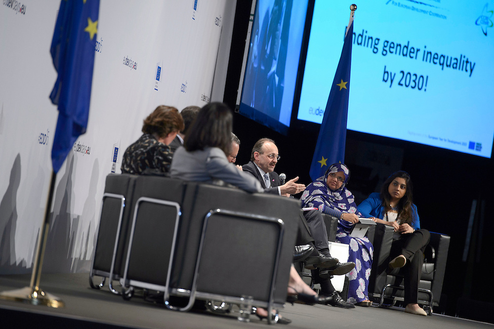 03 June 2015 - Belgium - Brussels - European Development Days - EDD - Gender - Ending gender inequality by 2030! © European Union