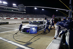 September 22, 2018 - Richmond, Virginia, United States of America - Kyle Larson (42) brings his car down pit road for service during the Federated Auto Parts 400 at Richmond Raceway in Richmond, Virginia. (Credit Image: © Chris Owens Asp Inc/ASP via ZUMA Wire)