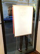 """Vienna, Austria. Opening of the photo exhibition """"40 Jahre Zeitgeschehen im profil - eine Fotoausstellung von Walter Wobrazek"""" at Projektraum für Fotografie - powered by cyberlab.at"""