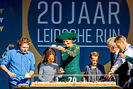 5-10-2018 LEIDSCHE RIJN Queen Maxima is Friday afternoon, October 5 at the celebration of twenty years Leidsche Rijn, the largest new construction location in the Netherlands. Leidsche Rijn currently has 85,000 inhabitants as the western part of the municipality of Utrecht. ROBIN UTRECHT