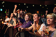 Atmosphere from the Drive-By Truckers show at The Pageant in St. Louis on October 28, 2011. © Todd Owyoung.