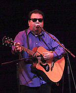 Cesar Rosas, and the band Los Lobos perform at the the Victoria Theatre, Saturday night, March 17th, in a show presented by CityFolk.