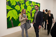 TIM BRADEY; SOPHIE VON HELLERMAN, Alex Katz opening. Timothy Taylor gallery. London. 3 March 2010.