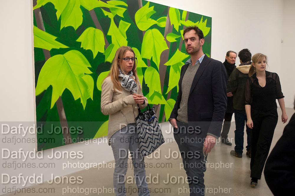 TIM BRADEY; SOPHIE VON HELLERMAN, Alex Katz opening. Timothy Taylor gallery. London. 3 March 2010.