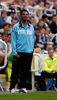 Photo. Jed Wee, Digitalsport<br /> Feyenoord Rotterdam v Sporting Lisbon, Newcastle Gateshead Cup, 31/07/2004.<br /> Feyenoord manager Ruud Gullit returns to former club Newcastle.