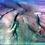 Aerial views of Bimini Islands in the Bahamas