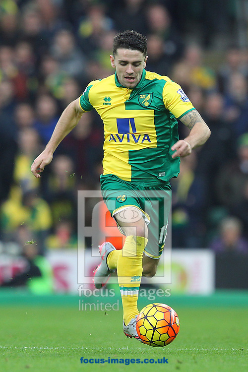 Robbie Brady of Norwich in action during the Barclays Premier League match at Carrow Road, Norwich<br /> Picture by Paul Chesterton/Focus Images Ltd +44 7904 640267<br /> 24/10/2015