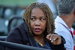 March 23, 2018 - Key Biscayne, Florida, United States Of America - KEY BISCAYNE, FL - MARCH 23: Oracene Price on day 5 of the Miami Open at Crandon Park Tennis Center on March 23, 2018 in Key Biscayne, Florida. ...People:  Oracene Price. (Credit Image: © SMG via ZUMA Wire)