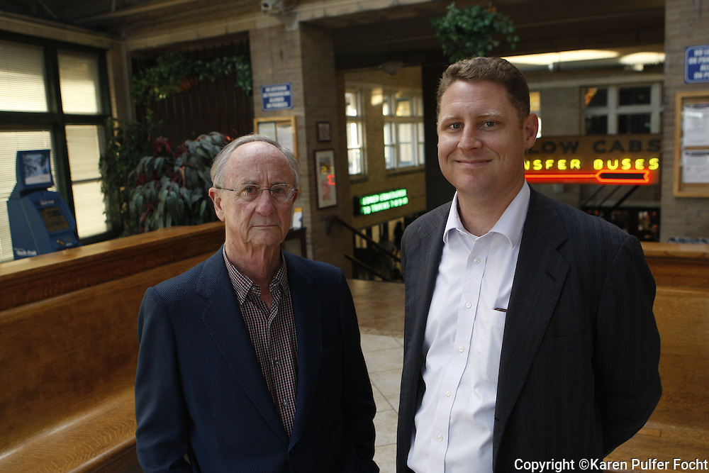Memphis real estate developer Henry Turley and his nephew Alex Turley.