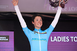 Sofia Bertizzolo (ITA) retains her lead in the UCI Women's WorldTour Youth Classification at Ladies Tour of Norway 2018 Stage 3. A 154 km road race from Svinesund to Halden, Norway on August 19, 2018. Photo by Sean Robinson/velofocus.com