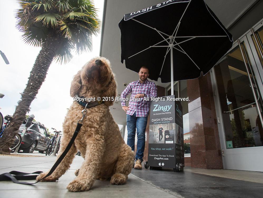 Tobi Skovron, founder and CEO, Zingy.<br /> (Photo by Ringo Chiu/PHOTOFORMULA.com)