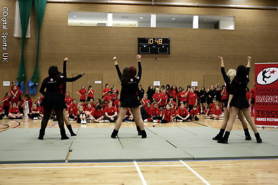 Saracens Cheerleading Competition.