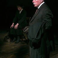 First Light by Mark Hayhurst<br /> Directed by Jonathan Munby<br /> Phil Davis as George Ingham<br /> Minerva Theatre, Chichester Festival Theatre, UK<br /> 15 June 2016