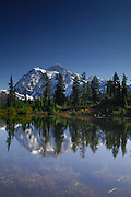 Mt. Shuksan, Mount Shuksan, Cascade, Cascades, Cascade Range, Washington