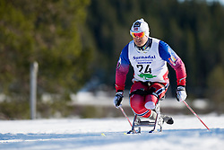 LARSEN Trygve Steinar, NOR, Middle Distance Cross Country, 2015 IPC Nordic and Biathlon World Cup Finals, Surnadal, Norway
