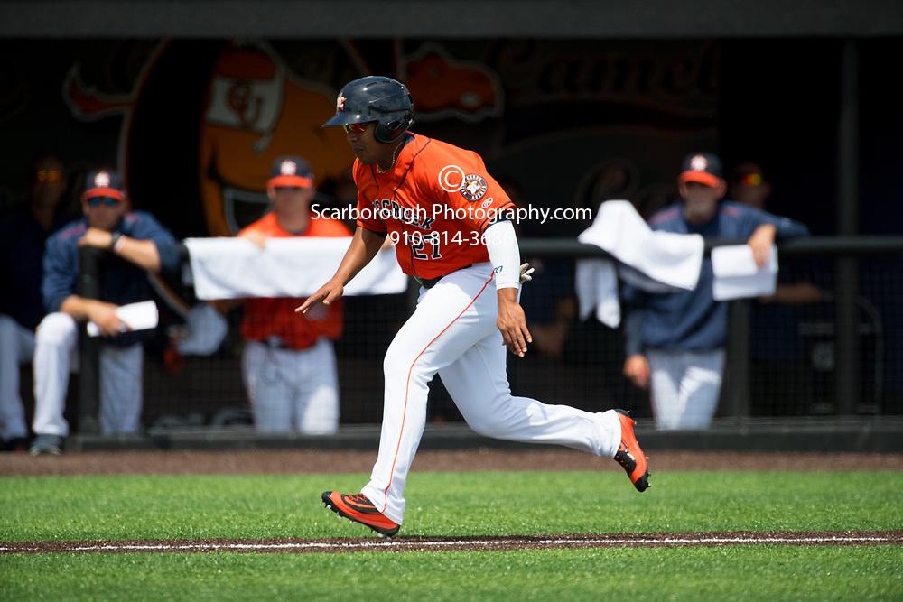 2017 Buies Creek Astro vs Wilmington Blue Rocks. Buies Creek Astros Dexture McCall (27) Photo By Bennett Scarborough