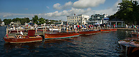 Antique Boat Show Wolfeboro, NH.  ©2018 Karen Bobotas Photographer