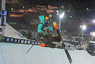 Maddie Bowman at the Winter X Games in Aspen, Colorado.