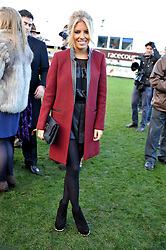 MOLLIE KING at the 2012 Hennessy Gold Cup at Newbury Racecourse, Berkshire on 1st December 2012