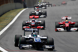 Motorsports / Formula 1: World Championship 2010, GP of Brazil, 09 Rubens Barrichello (BRA, AT&T Williams),
