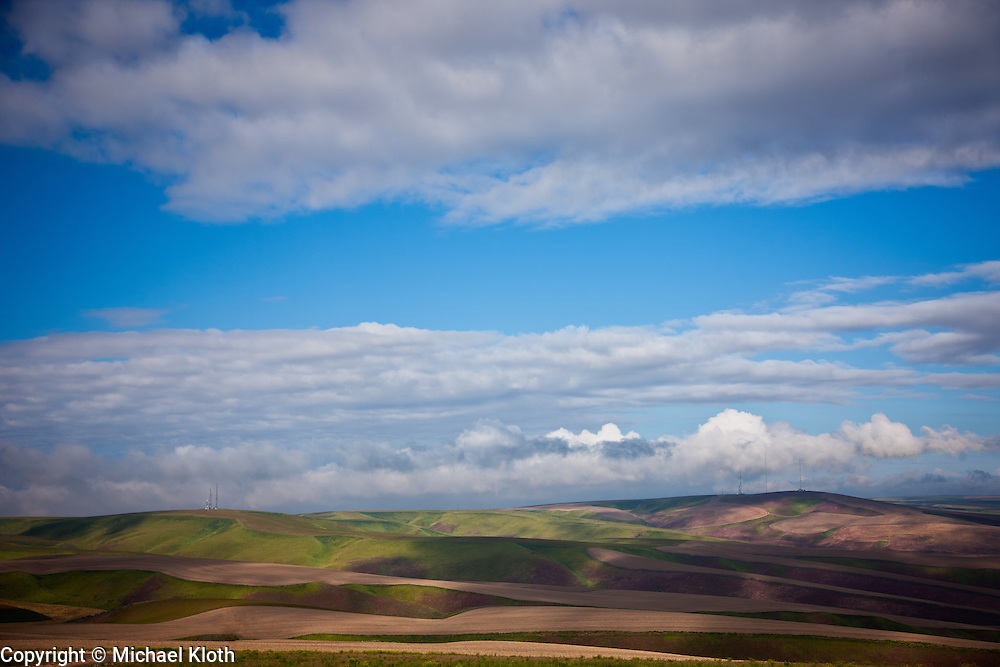 I enjoyed the way that the clouds cast their shadows on the land further breaking up the landscape.